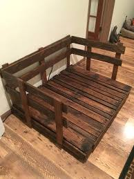 wood dog bed furniture. Dog Beds Out Of Pallet Bed Tutorial Made From Wood Pallets Furniture