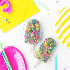 Birthday Cake Ice Cream Bars Studiodiycom Studio Diy
