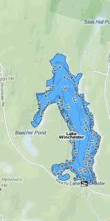 Lake Winchester Fishing Map Us_ct_1550 Nautical Charts App