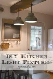 cottage kitchen lighting. DIY Light Fixtures For The Kitchen | Diy Lighting, . Cottage Lighting E