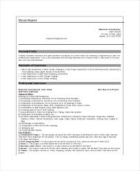 Architectural Drafter Resume Inspiration 48 Drafter Resume Templates PDF DOC Free Premium Templates
