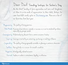 Another Word For Presume Dear Dad Trending Lookups For Father's Day Everything After Z By 7