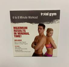 Total Gym 6 8 Minute Workout Dvd
