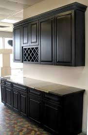 Painted Black Kitchen Cabinets Painting Kitchen Cabinets Chocolate Quicuacom