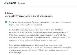 Slack全ユーザーが接続できなくなった大規模障害の原因はバッチ処理に