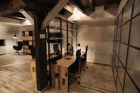 industrial style office. IT Office Industrial Style Interiors Designed By Ezzo Design (11) I