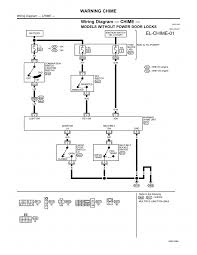 nissan door chime & wiring diagram chime page 01 (2001)\