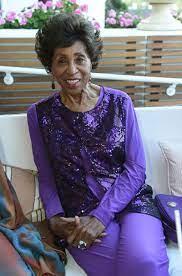 Marla Gibbs, 90, talks about Walk of ...