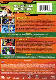 LEGO Ninjago: Masters of Spinjitzu Seasons One and Two Double Feature:  Amazon.de: DVD & Blu-ray