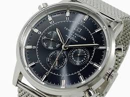 watchlist rakuten global market ★1790877 ★ トミーヒムフィガー tommy hilfiger watch mens 1790877 black x silver