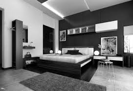 Perfect Black And White Themed Bedroom Hd9d15