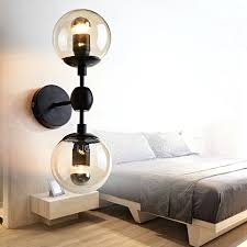 thumbnails of clear glass lamp shades for wall lights image of orbiter 8 wall sconce with white glass globe replacement glass lamp shades for wall lights uk
