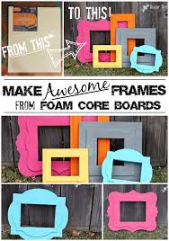 sugar bee crafts shows you how to make a picture frame with craft foam