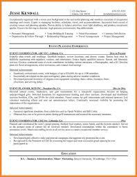 Events Coordinator Resume Event Planner Resume Best Ideas Of Event Coordinator Resume Example 18