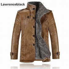 super warm leather jacket mens plus size 4xl thick motorcycle jacket waterproof er military jackets man s coat jaquetas 895