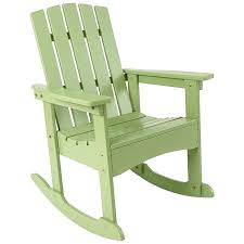 Adirondack Rocking Chair Rocker Outdoor Rocking Chair Wood Rocker