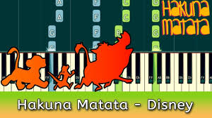 <b>Hakuna Matata</b> Piano Tutorial (with Chords & Notes) - YouTube