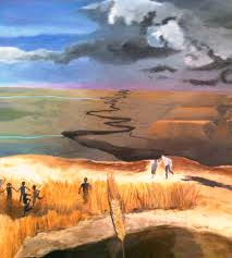 literature art and a personal connection ldquo facing the storm the catcher in the rye painting art meaning