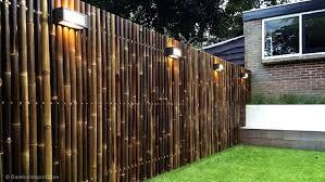 Exterior Fencing Designs Best Bamboo Fencing For Garden And Outdoor Design Outdoor