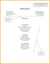100 Resume Reference Sheet Template Resume Reference Sheet