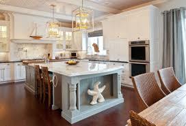 Our Coastal Style White Shaker Kitchen Makeover The Reveal Small Coastal Kitchen Ideas