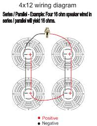 guitar cabinet wiring x solidfonts how to properly wire a 4x12 speaker cabinet warehouse guitar