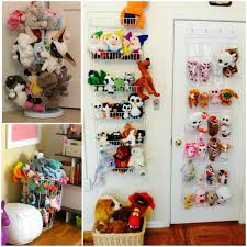 stuffed animal storage ideas to minimize toy clutter