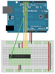 arduino run an atmega328 only using an 16mhz crystal out enter image description here