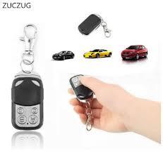 zuczug 433mhz garage door remote control presentation universal car gate cloning rolling code remote duplicator opener key fob universal remote controller