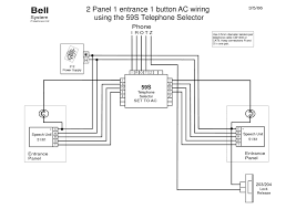 bell wiring diagrams bell bstl 2 panel 1 entrance ac wiring 59s pd 138