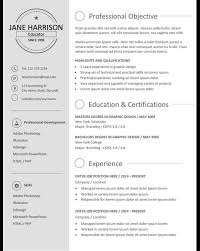 Resume Templates That Stand Out Resumes Templates That Stand Out Cipanewsletter Real Cv Examples 6
