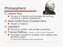 philosophies in the industrial world capitalism socialism and  2 philosophers