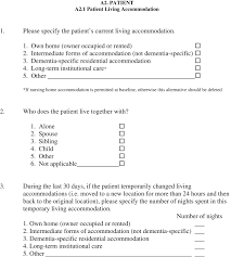 Application Of Resource Utilization In Dementia Rud Instrument