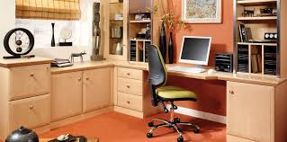 home office study furniture. Fitted Home Office In Beech Study Furniture