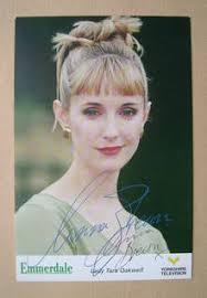 Anna Brecon autograph (hand-signed cast card)