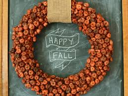 Fall Wreath 8 Diy Fall Wreaths To Dress Up Your Front Door Hgtvs Decorating