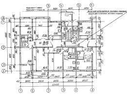 Общие сведения по составу графической части дипломного проекта Рисунок 1 19 План на отметке 0 000 Пример выполнения плана одноэтажного производственного здания