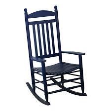 blue rocking chair. Bradley Slat Midnight Patio Rocking Chair Blue A