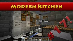 Minecraft Modern Kitchen Minecraft Tutorials Minecraft Tutorial 17 How To Build A