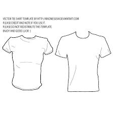 Shirt Illustrator Template Download At T Shirt Vector Template