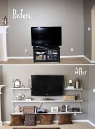 love this before and after shelves add impact click image to