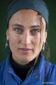 Ana Carla Martinez, Deckhand from Argentina An international crew is currently on a month-long expedition in the icy Arctic. Greenpeace is campaigning for a ... - GP11BO_layout