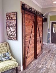 half x sliding barn doors