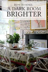 10 Ways to Make a Dark Room Brighter! - Swoon Worthy