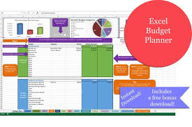 budget planning excel excel budget planner simple budget detailed budget etsy