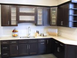 new kitchen doors kitchen cupboard door designs dark brown cherry wood double slab door cream high