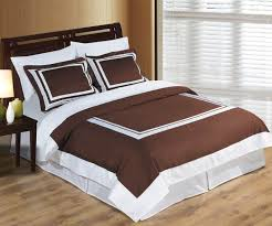 brown and white duvet cover the duvets