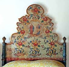 antique painted furnitureHand Painted Headboards  Home Design