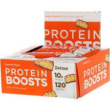 <b>Protein Boosts Bars</b>, <b>Caramel</b> Peanut, 9 Bars, 1.1 oz (30 g) Each for ...