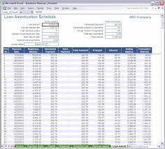 Amortization Spreadsheet Xls Download